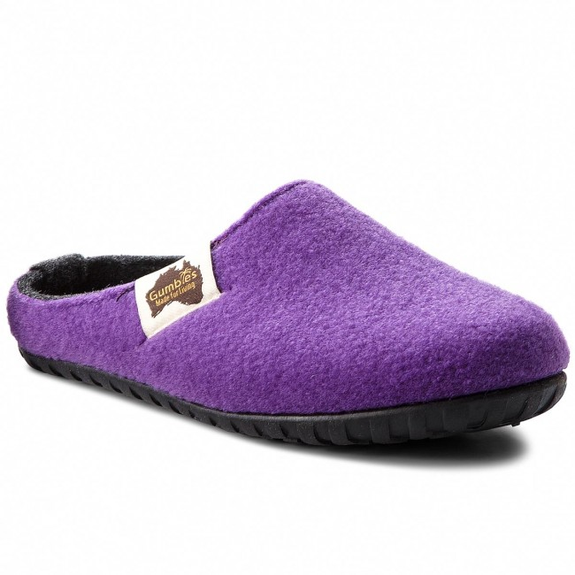 Slippers GUMBIES - Outback Purple/Charcoal