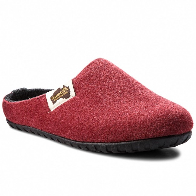 Slippers GUMBIES - Outback Burgundy/Charcoal
