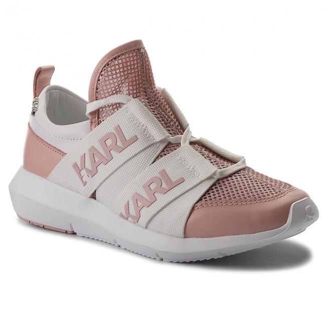 Sneakers KARL LAGERFELD - KL61120 Silver/Pink