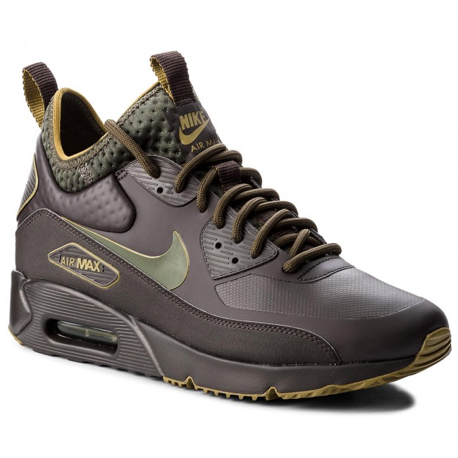 Details about Nike Air Max 90 Ultra Mid Winter SE Mens Trainers in Velvet Brown