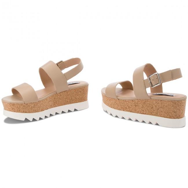 Sandals STEVE MADDEN Krista Platform Sandal 91001050 10001 11007 Natural