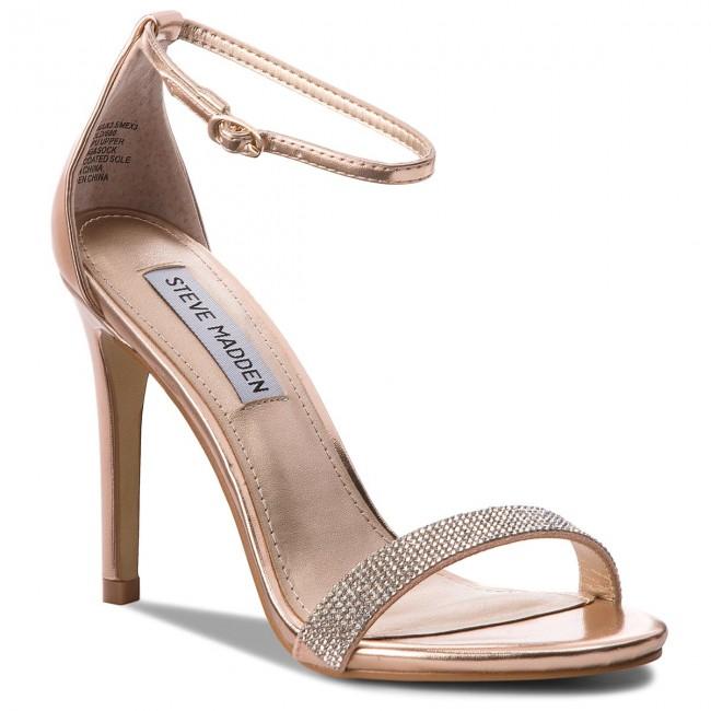 Sandals STEVE MADDEN - Stecy-S Sandal 91000550-0S0-07010-15002 Rose Gold