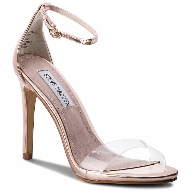 Sandals STEVE MADDEN - Stecy-C High Heel Sandal 91001144-07099-15002 Rose Gold