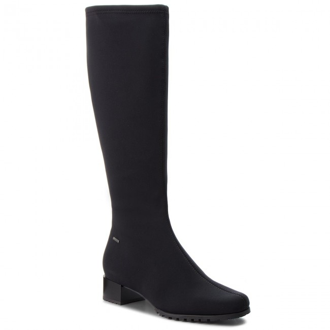low price sale outlet store discount Knee High Boots HÖGL - GORE-TEX 6-103856 Black 0100 - Jackboots ...