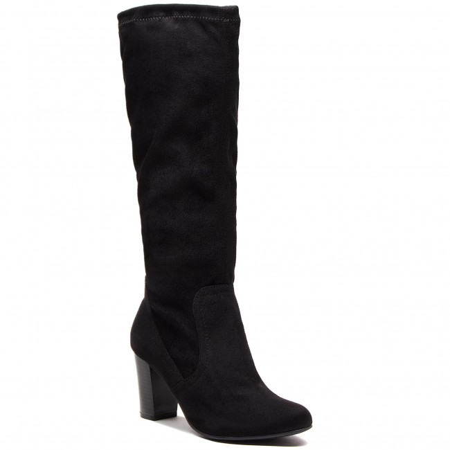 Knee High Boots CAPRICE 9 25502 21 Black Stretch 044