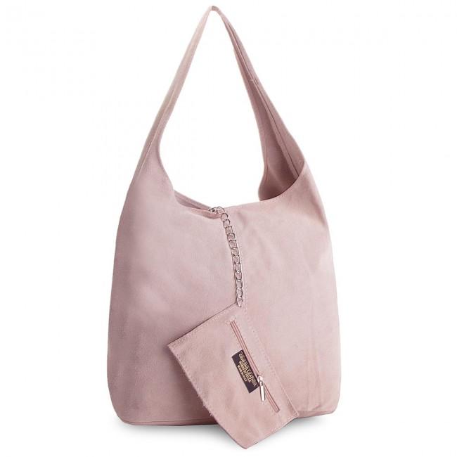 Handbag CREOLE - K10408 Pudrowy Róż