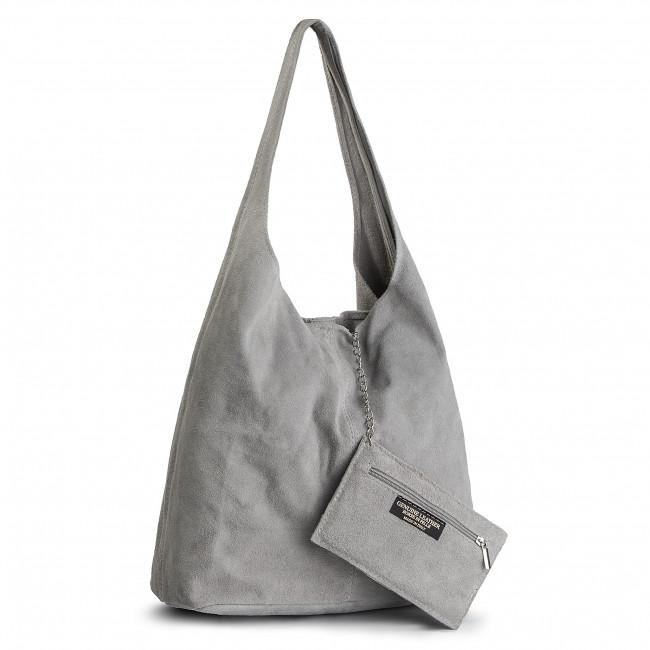Handbag CREOLE - K10408 Jasny Szary