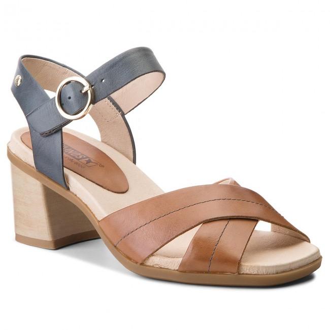 Sandals PIKOLINOS - W2R-1638C1 Brandy/Ocean