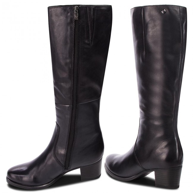 Knee High Boots CAPRICE 9 25519 21 Ocean Nappa 855