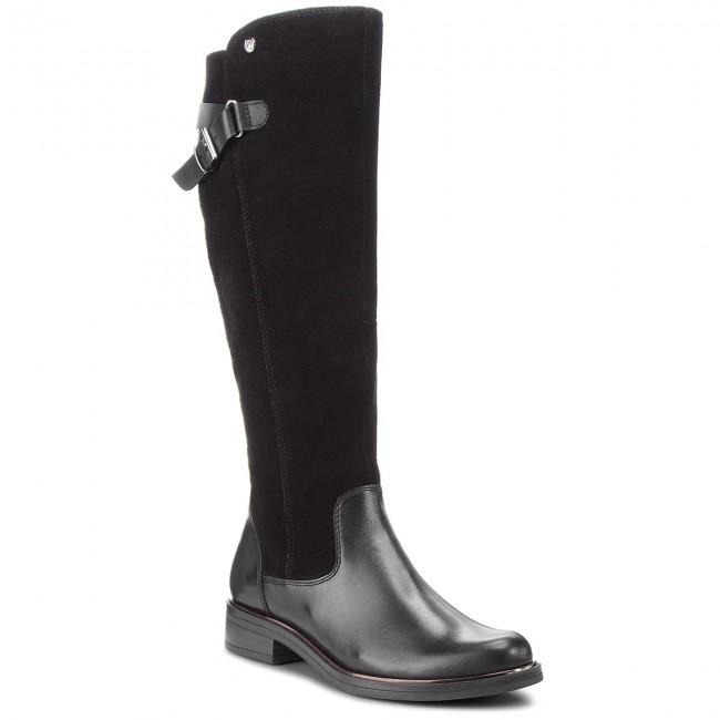 Knee High Boots CAPRICE 9 25523 21 Black Comb 019