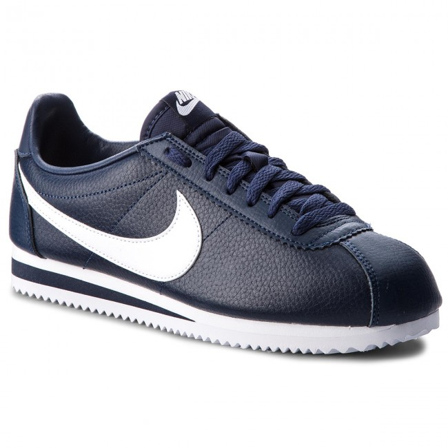 Shoes NIKE - Classic Cortez Leather 749571 414 Midnight Navy/White