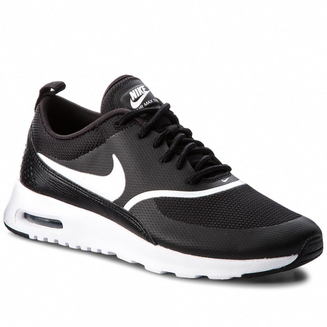 newest 4e36a 8d17b Shoes NIKE - Air Max Thea 599409 028 Black White - Sneakers - Low shoes -  Women s shoes - efootwear.eu