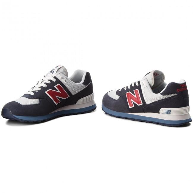 finest selection a0426 81d91 Sneakers NEW BALANCE - ML574ESC Navy Blue