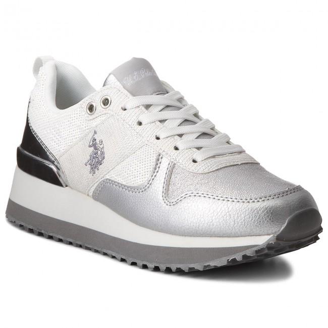 Sneakers U.S. POLO ASSN. - Tabitha FRIDA4042S8/TY1 Glitter Sil