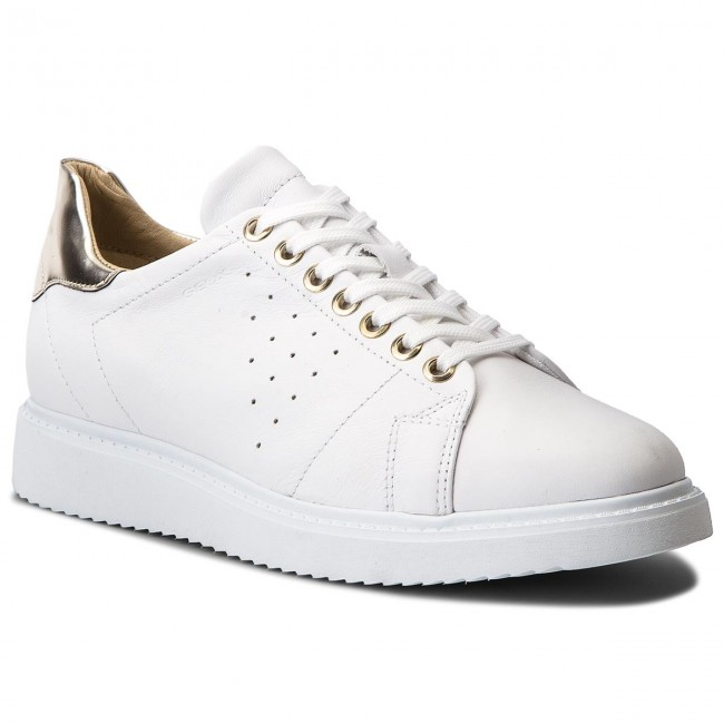 Sneakers GEOX - D Thymar A D724BA 00085 C1001 2018 White