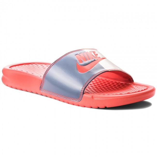 Slides NIKE - Benassi Jdi 343881 612 Habanero Red/Habanero Red
