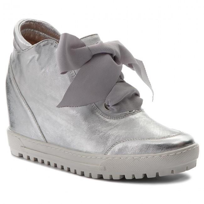 Sneakers EKSBUT - 68-5057-369-1G Srebro