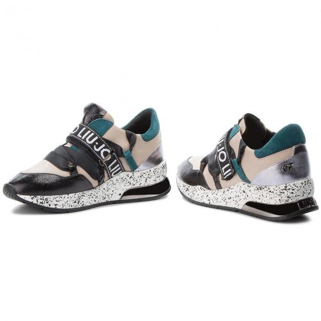 imagen balcón autobús  Sneakers LIU JO - Karlie 03 B68001 PX001 Black/Nude/Peacock S19A1 -  Sneakers - Low shoes - Women's shoes | efootwear.eu