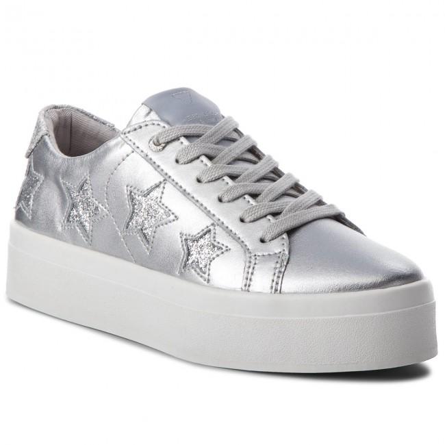 Sneakers GUESS - FLFHS3 LEM12 SILVER