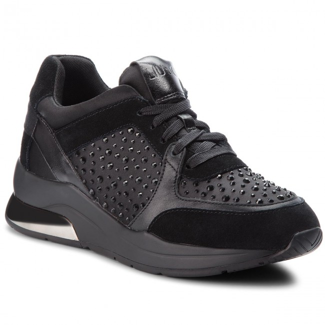 Liu Jo Shoes Woman Low Sneakers B68003 TX003 Karlie 05 Lace up Gray