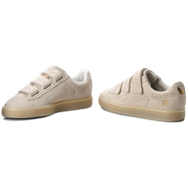 finest selection 81f71 7a8df Sneakers PUMA - X Careaux Basket Strap 362727 02 Whisper White
