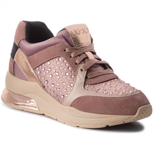 new product 5d043 c9c1b Sneakers LIU JO - Karlie 05 B68003 TX003 Rose 01597