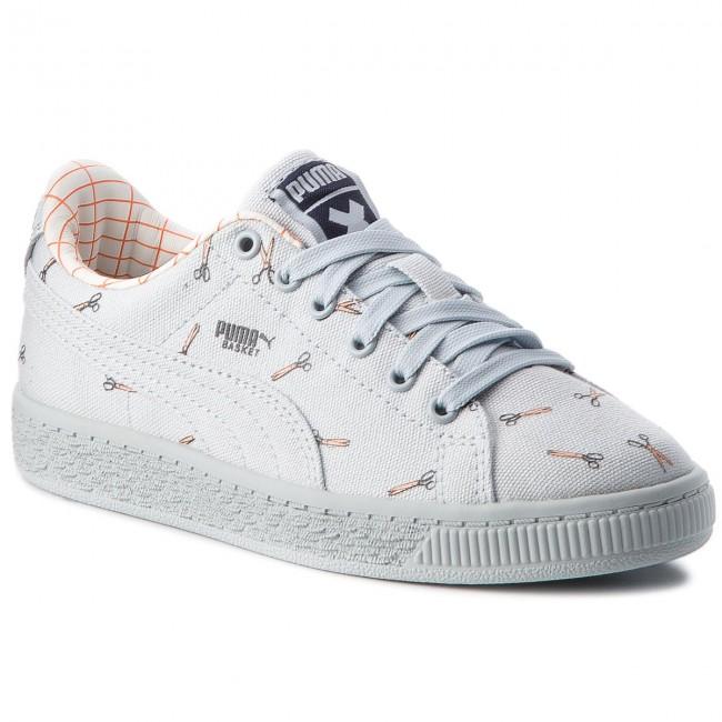 Sneakers PUMA - X Tc Basket Cvs Ps 364559 01 Illusion Blue/Illusion Blue
