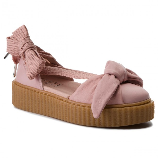 Shoes PUMA - Bow Creeper Sandal 365794 01 Silver Pink/Pink/Oatmeal