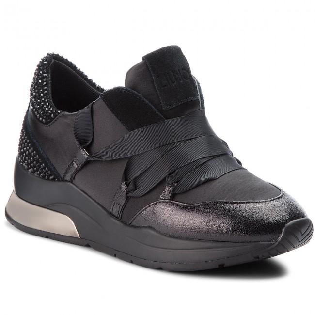 Condicional auricular bobina  Sneakers LIU JO - Karlie 03 B68001 TX001 Black 22222 - Sneakers - Low shoes  - Women's shoes | efootwear.eu