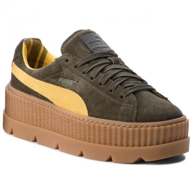 Sneakers PUMA - Cleated CreeperSuede 366268 01 Rosin/Lemon/Vanilla Ice