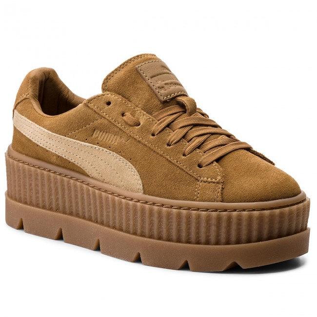 Sneakers PUMA - Cleated CreeperSuede 366268 02 Golden Brown/Lark