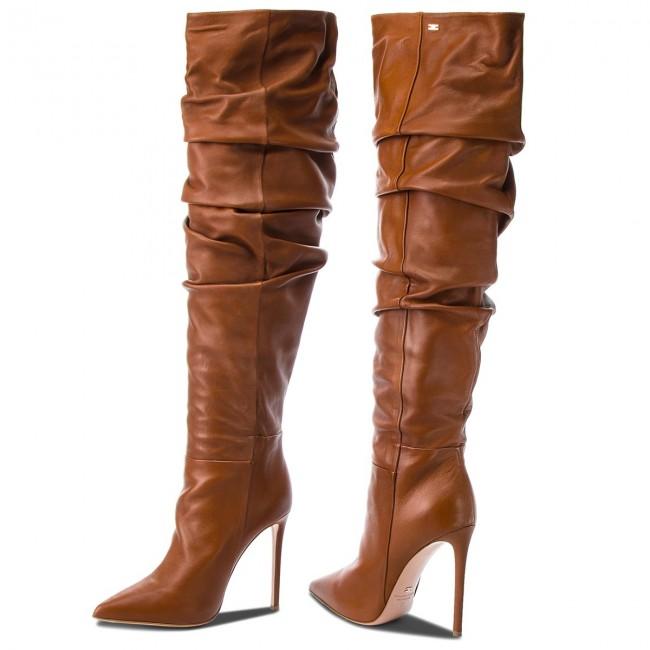7bead1e078 Over-Knee Boots ELISABETTA FRANCHI - SA-44L-87E2-V740 Gianduia 689