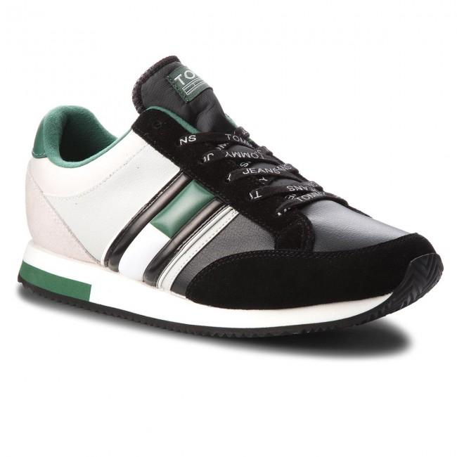 Sneakers TOMMY JEANS Casual Retro Sneaker EM0EM00112 Ice Black 913