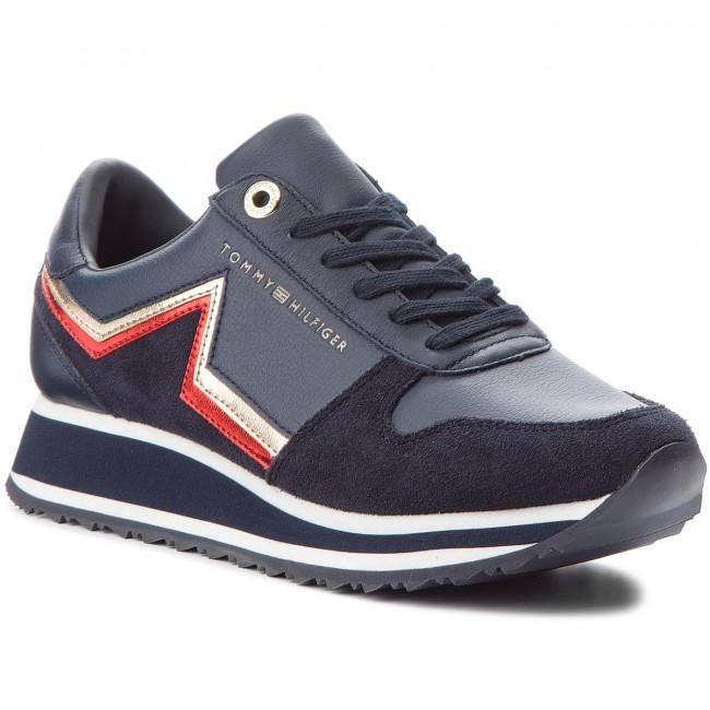 1a98b619ddc5 Sneakers TOMMY HILFIGER - Star Retro Runner FW0FW03234 Rwb 020
