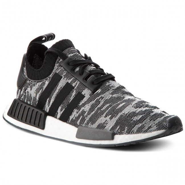 best sneakers fbe7f 1fc6f Shoes adidas - NMD_R1 PK CQ2444 Core Black/Solar Red