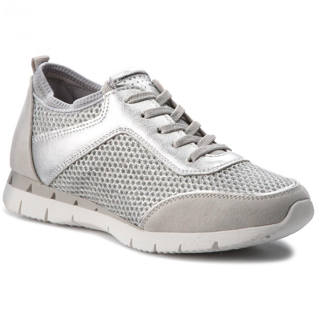 huge inventory brand new official supplier Sneakers MARCO TOZZI - 2-23723-20 Silver Comb 948