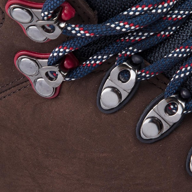 Hiking Boots TOMMY HILFIGER Outdoor Hiking Detail Boot FM0FM01755 Coffee 211