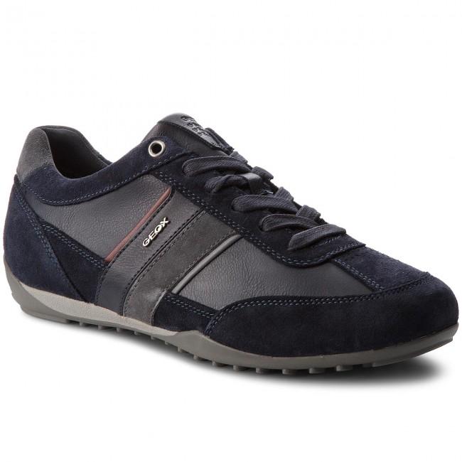 Sneakers GEOX U Wells C U52T5C 022ME CF47J NavyDk Burgundy