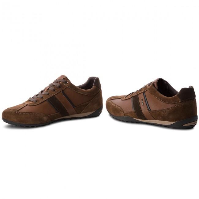 Sneakers GEOX U Wells C U52T5C 022ME C6003 Browncotto