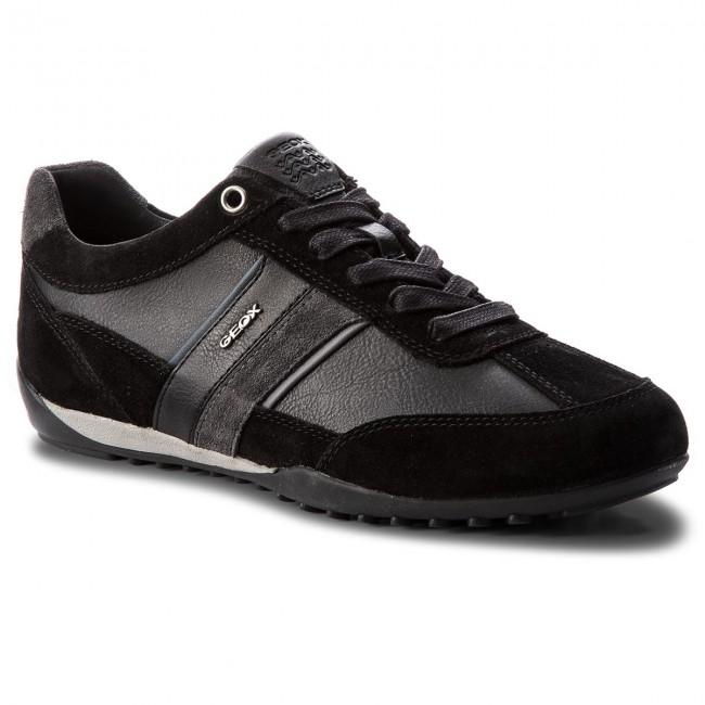 Sneakers GEOX U Wells C U52T5C 022ME C9B4N BlackDk Jeans