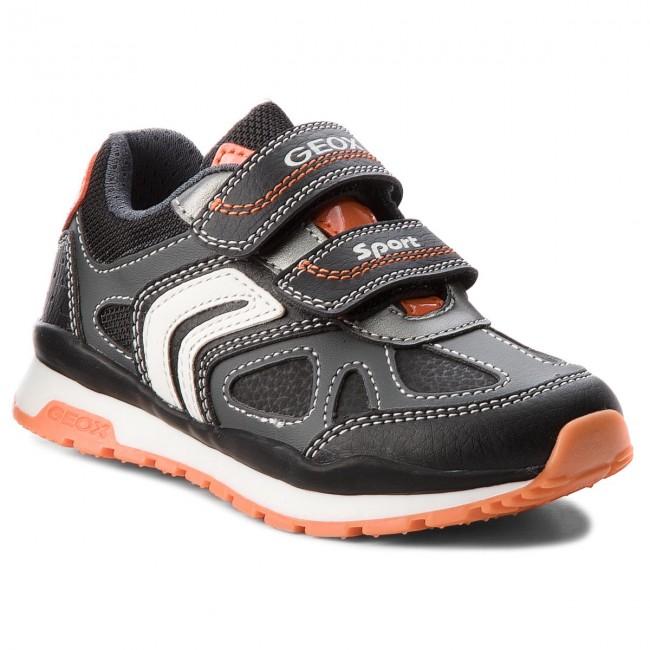 Sneakers GEOX J Pavel B. A J8415A 0BU11 C0904 M Dk GreyOrange v0O1L