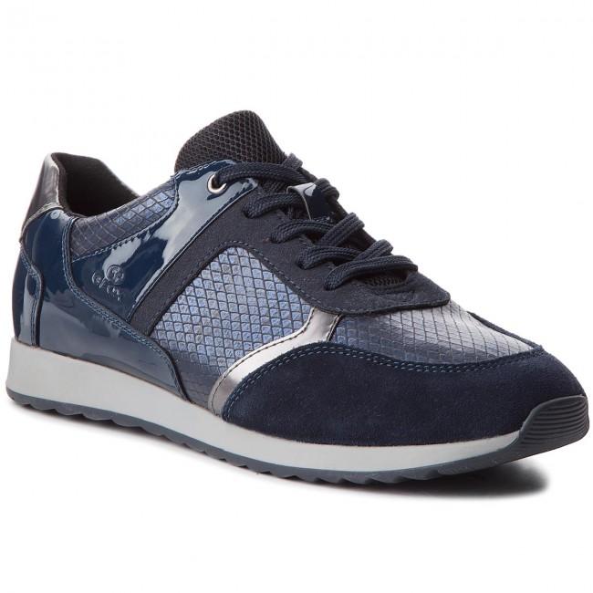 Sneakers GEOX D Deynna C D846FC 004AU C4002 Navy