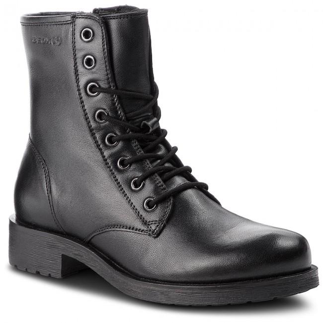Sustancialmente Regulación Cenar  Boots GEOX - D Rawelle B D746RB 000TU C9999 Black - Boots - High boots and  others - Women's shoes | efootwear.eu