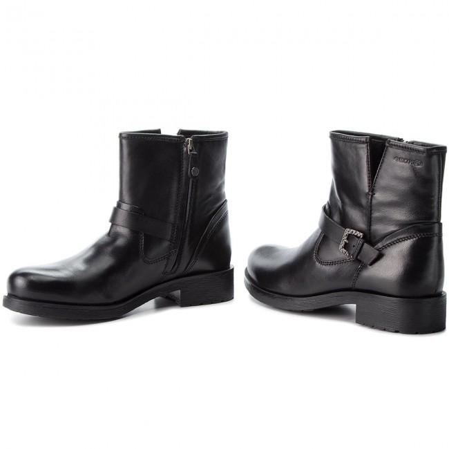 desinfectante Enfatizar líder  Boots GEOX - D Rawelle C D846RC 000TU C9999 Black - Boots - High boots and  others - Women's shoes | efootwear.eu