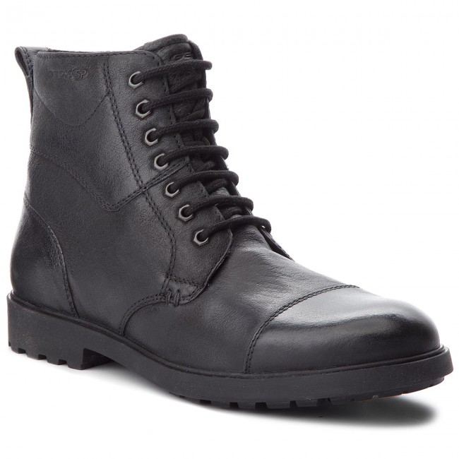 SIDA cooperar aleatorio  Knee High Boots GEOX - U Rhadalf E U845HE 000EM C9999 Black - Jackboots -  High boots and others - Men's shoes | efootwear.eu