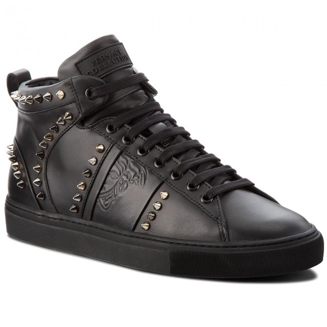 Sneakers VERSACE COLLECTION - V900716 VM00393 V933 Nero/Nero/Fdo