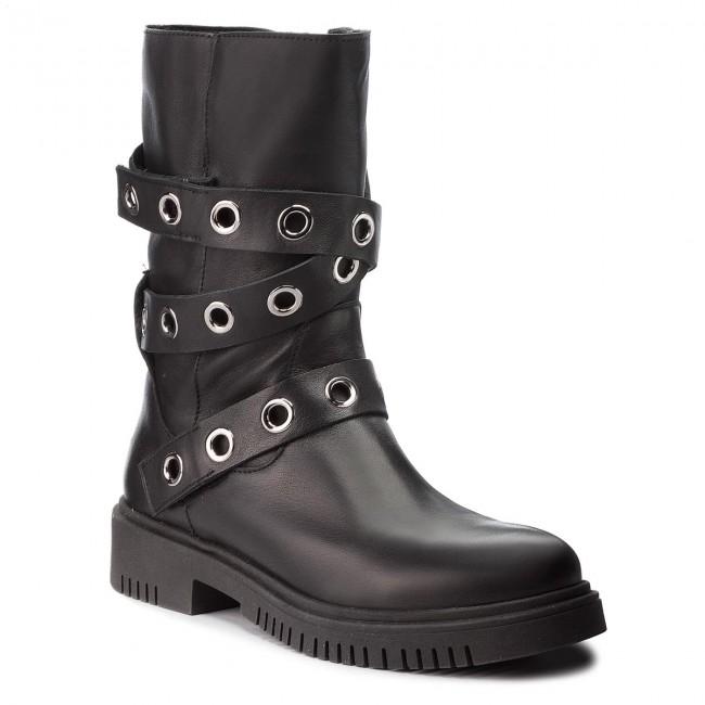 Boots NESSI - 18420 Czarny 1 1