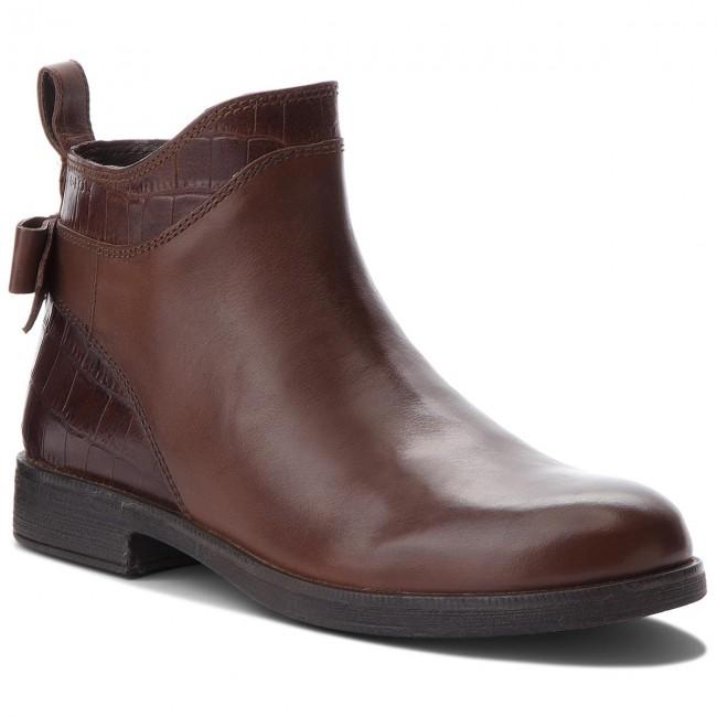 Boots GEOX - J Agata B J8449B 0436Y C6777 Tobacco
