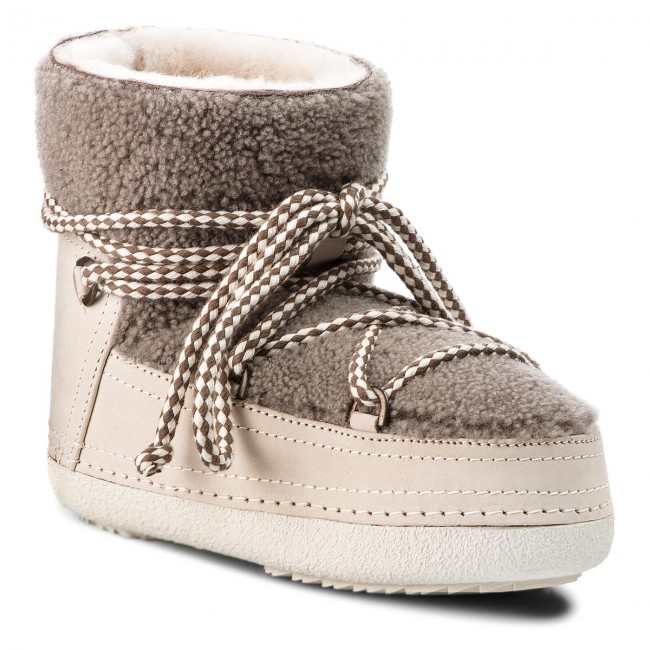 Shoes INUIKII Boot Curly 70101 16 Taupe
