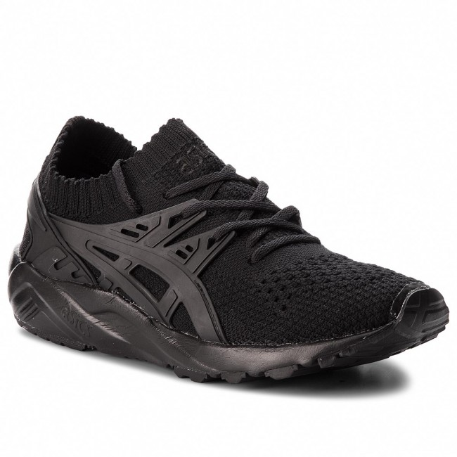 new style 005c8 80d90 Sneakers ASICS - TIGER Gel-Kayano Trainer Knit H705N Black/Black 9090